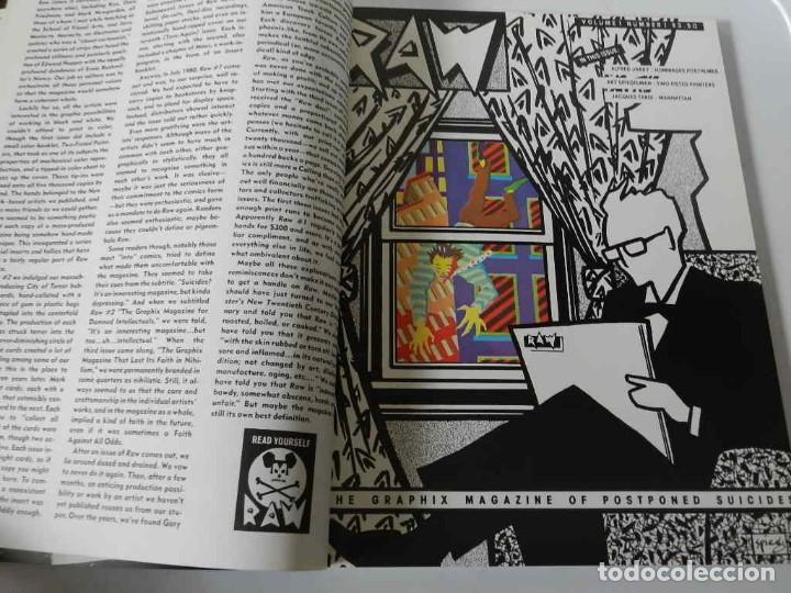 Tebeos: RAW Nº 1 , 2 Y 3 ART SPIEGELMAN - WINSOR MC CAY - MARISCAL - MUÑOZ & SAMPAYO - BURNS - TARDI - COMIC - Foto 6 - 169332584