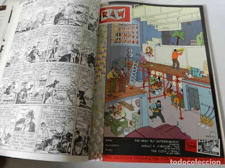 Tebeos: RAW Nº 1 , 2 Y 3 ART SPIEGELMAN - WINSOR MC CAY - MARISCAL - MUÑOZ & SAMPAYO - BURNS - TARDI - COMIC - Foto 8 - 169332584