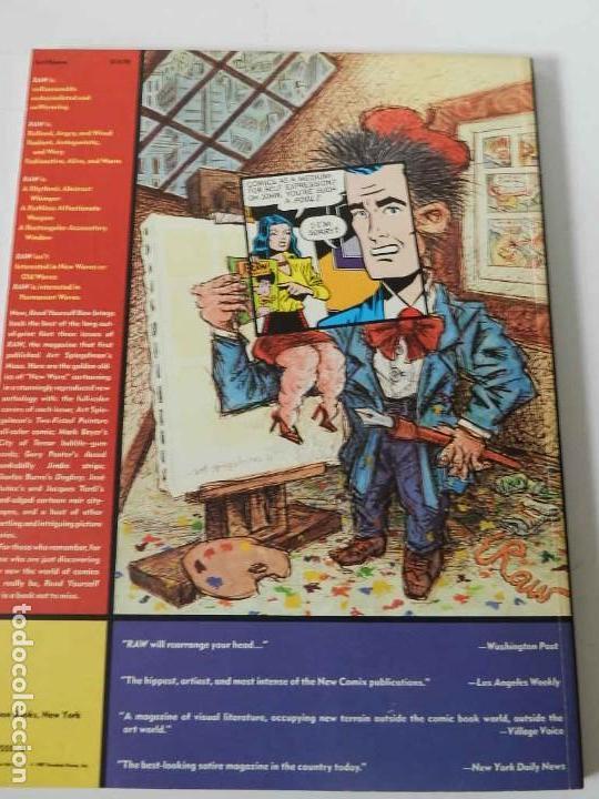 Tebeos: RAW Nº 1 , 2 Y 3 ART SPIEGELMAN - WINSOR MC CAY - MARISCAL - MUÑOZ & SAMPAYO - BURNS - TARDI - COMIC - Foto 9 - 169332584