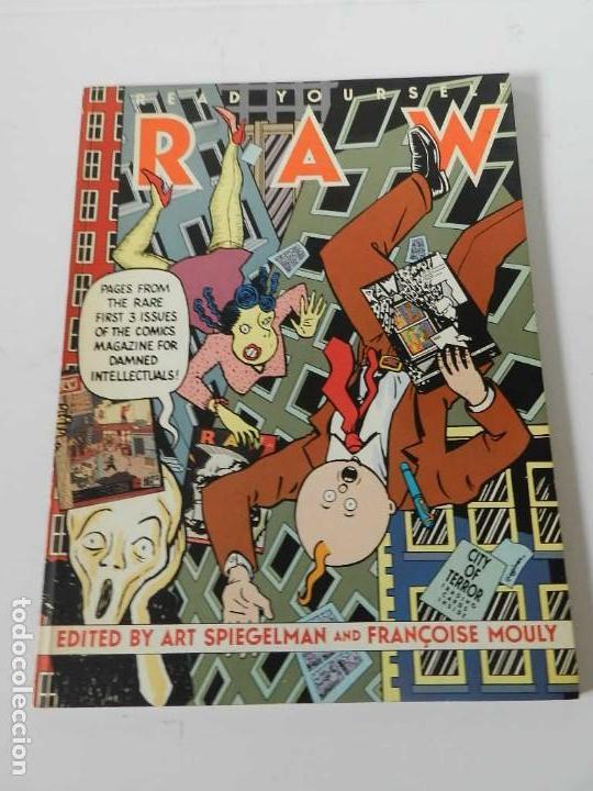 RAW Nº 1 , 2 Y 3 ART SPIEGELMAN - WINSOR MC CAY - MARISCAL - MUÑOZ & SAMPAYO - BURNS - TARDI - COMIC (Tebeos y Cómics - Números 1)