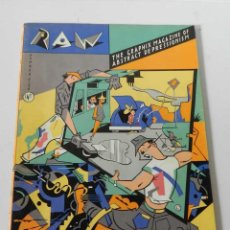 Giornalini: RAW Nº 5 FIVE ART SPIEGELMAN - COMIC .- THE GRAPHIX MAGAZINE OF ABSTRACT DEPRESSIONISM. Lote 169334332
