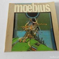 Tebeos: LIBRO MOEBIUS - LES HUMANOÏDES ASSOCIÉS - EN FRANCÉS LF EDITIONS.1980 COMIC DIBUJOS. Lote 169342248