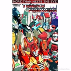 Giornalini: TRANSFORMERS MORE THAN MEETS THE EYE Nº 01/05. Lote 169795636