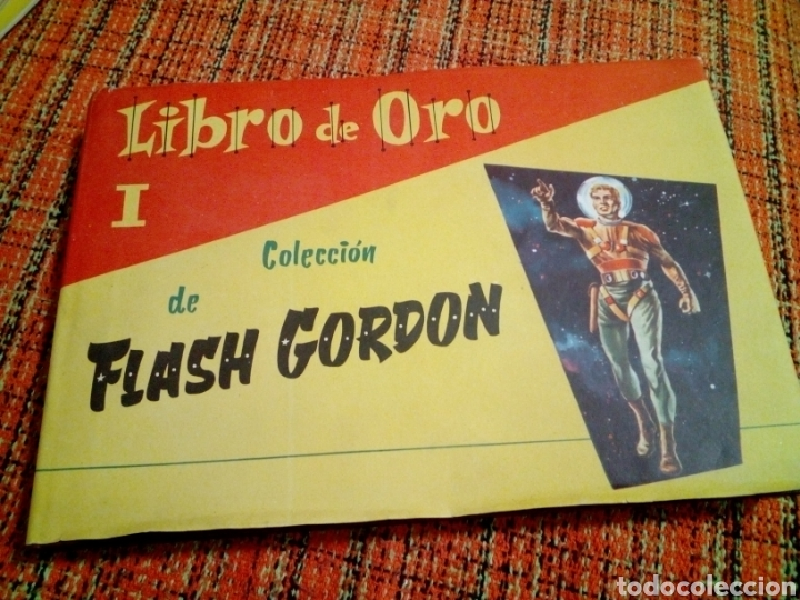 LIBRO DE ORO FLASH GORDON (Tebeos y Cómics - Números 1)