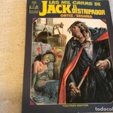 BDs: LAS MIL CARAS DE JACK EL DESTRIPADOR . Nº 1 JOYAS DE GREEPY . Lote 171037223