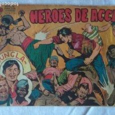 Tebeos: HÉROES DE ACCIÓN -JUNGLA -Nº 1. EDITORIAL MAGA 1958. BUEN ESTADO. Lote 171636285