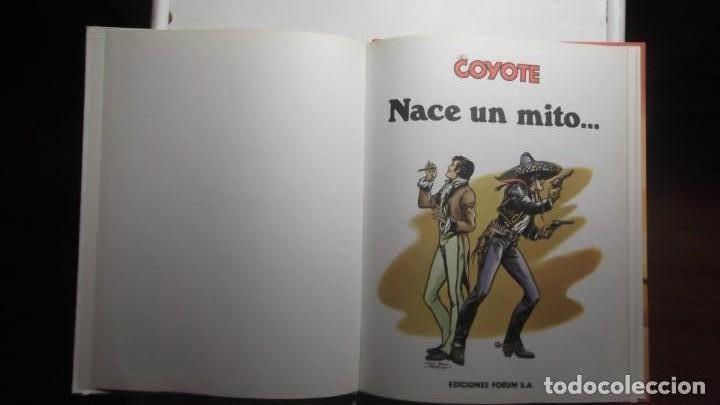 Tebeos: COMIC Nº1 Nace un mito... EL COYOTE de J. Mallorqui Ediciones Forum S.A 1983 - Foto 2 - 171708158