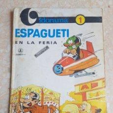 Tebeos: GOSCINNY Y D. ATTANASIO ESPAGUETI EN LA FERIA. JAIMES 1968 CO. VIDORAMA NÚMERO 1. Lote 172348609