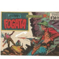 Tebeos: JOHNNY FOGATA Nº 1 ORIGINAL AÑO 1960 DIBUJOS DE JOSÉ ORTIZ EDITORIAL MAGA. Lote 173018822