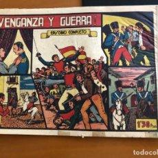 Tebeos: VENGANZA Y GUERRA Nº 1 . Lote 173021378