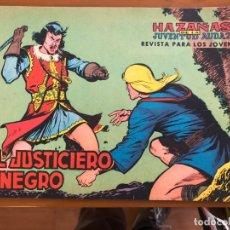 Tebeos: EL JUSTICIERO NEGRO Nº 1 BUEN ESTADO. Lote 173103210