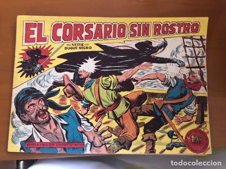 EL CORSARIO SIN ROSTRO Nº 1 BUEN ESTADO (Tebeos y Cómics - Números 1)