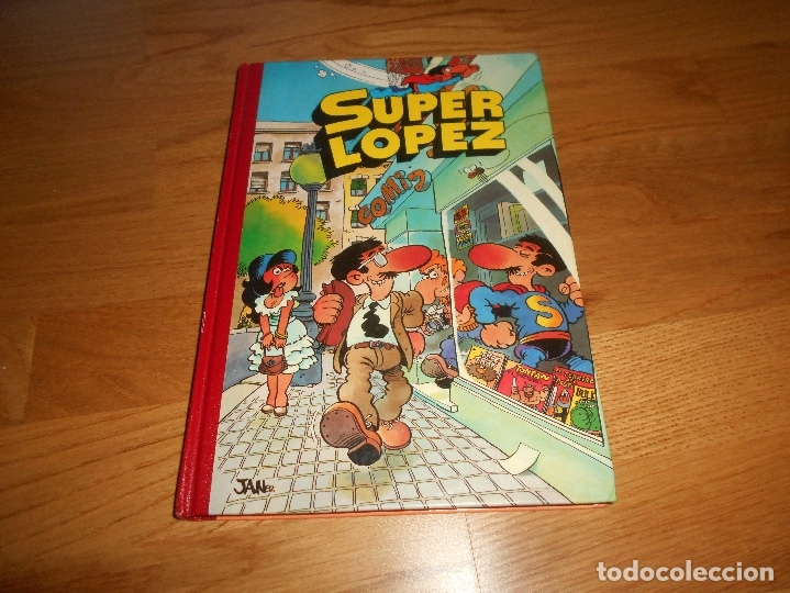 SUPER HUMOR SUPER LOPEZ TOMO 1 1998 PRIMERA REIMPRESION BUEN ESTADO EDICONES B (Tebeos y Cómics - Números 1)