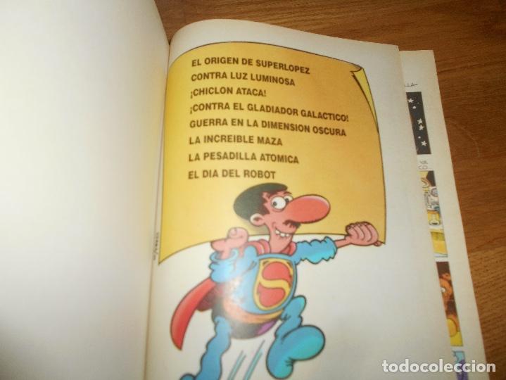 Tebeos: SUPER HUMOR SUPER LOPEZ TOMO 1 1998 PRIMERA REIMPRESION BUEN ESTADO EDICONES B - Foto 2 - 173422660