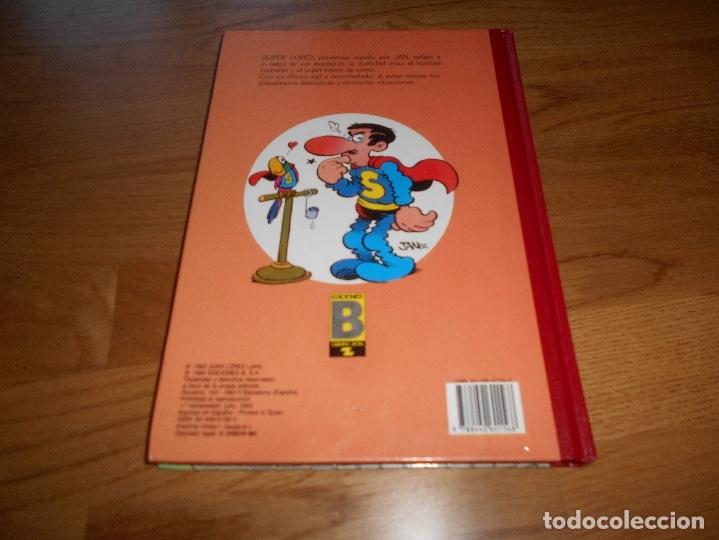 Tebeos: SUPER HUMOR SUPER LOPEZ TOMO 1 1998 PRIMERA REIMPRESION BUEN ESTADO EDICONES B - Foto 6 - 204255895