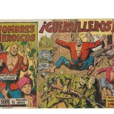 BDs: HOMBRES HEROICOS, Nº 1. ES ORIGINAL DEL AÑO 1961. DIBUJANTE MANUEL GAGO EDITORIAL MAGA.. Lote 173433132