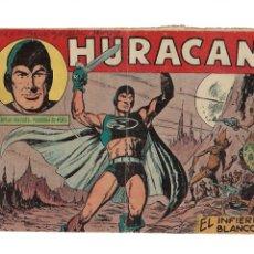 Tebeos: HURACÁN Nº 1 ES ORIGINAL DEL AÑO 1960 DIBUJADA POR L. BLANCO EDITORIAL MAGA.. Lote 173435817