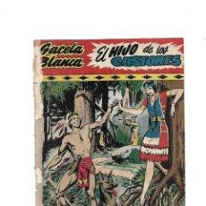 Tebeos: GACELA BLANCA Nº 1 ES ORIGINAL DEL AÑO 1949 DIBUJADA POR INGAM EDITORIAL HISPANO AMERICANA. Lote 173436908
