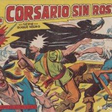 Tebeos: EL CORSARIO SIN ROSTRO Nº 1 SERIE DUQUE NEGRO EL DE LA FOTO VER FOTO ADICIONAL CONTRAPORTADA. Lote 173918938