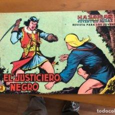 Tebeos: JUSTICIERO NEGRO Nº 1 . Lote 174570012