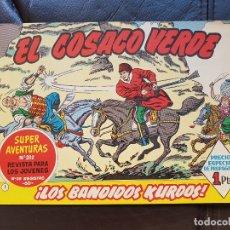 Tebeos: EL COSACO VERDE Nº 1 ED. BRUGUERA 1960. Lote 174621474