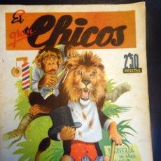 Tebeos: ANTIGUO TEBEO EL GRAN CHICOS NÚMERO 1 , AÑO 1945 , VER FOTOS. Lote 175522168