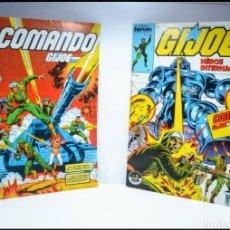 Livros de Banda Desenhada: COMIC COMANDO G.I.JOE NUM 1 Y NUM 2. Lote 176546210