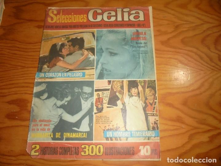 SELECCIONES CELIA Nº 1, AÑO 1. 1965. ¡ URSULA ANDRESS, REINA DEL SEX-APPEL¡ 33 X 24 CM (Tebeos y Cómics - Números 1)