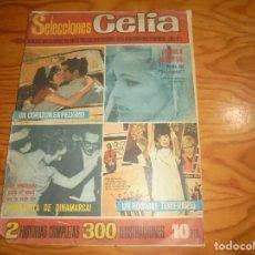 Giornalini: SELECCIONES CELIA Nº 1, AÑO 1. 1965. ¡ URSULA ANDRESS, REINA DEL SEX-APPEL¡ 33 X 24 CM. Lote 177673112