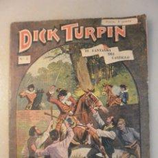 Tebeos: DICK TURPIN EL FANTASMA DEL CASTILLO, Nº 1. Lote 178635861