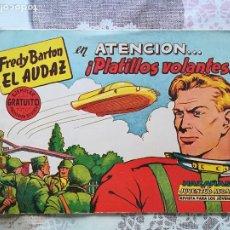Tebeos: FREDY BARTON EL AUDAZ Nº 1. Lote 178750525