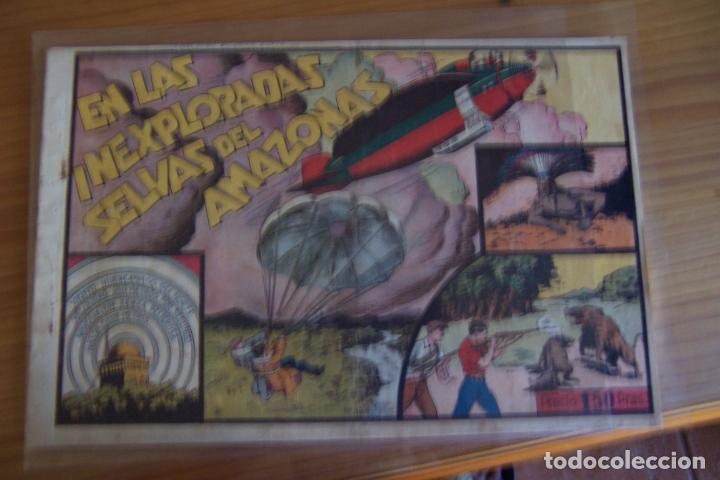 HISPANO AMERICANA, JUAN Y LUIS Nº 1 EN LAS INEXPLORADAS SELVAS DEL AMAZONA (Tebeos y Cómics - Números 1)