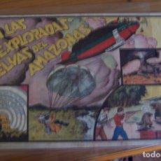 Giornalini: HISPANO AMERICANA, JUAN Y LUIS Nº 1 EN LAS INEXPLORADAS SELVAS DEL AMAZONA . Lote 179310455