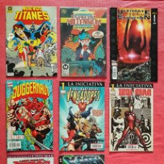 Tebeos: LOTE 8 COMICS MARVEL Y DC NUMEROS 1. OPORTUNIDAD UNICA NUMEROS 1 REVALORIZABLES. NUEVOS TITANES.... Lote 180006200