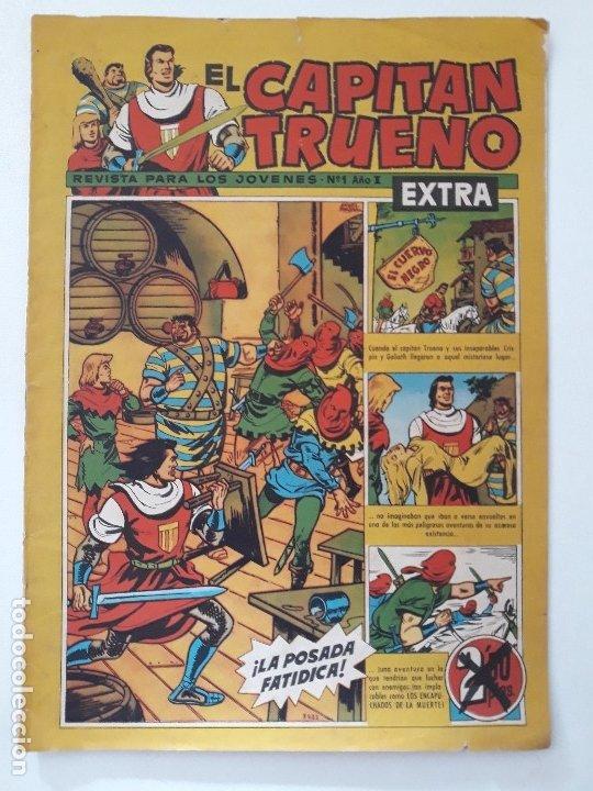 EL CAPITÁN TRUENO EXTRA Nº 1 AÑO X. LA POSADA FATÍDICA. EDITORIAL BRUGUERA. 1960. (Tebeos y Cómics - Números 1)