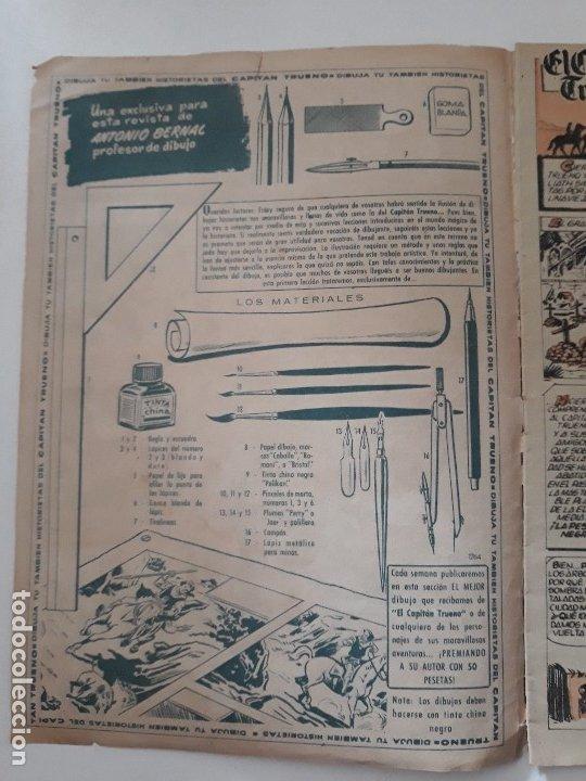 Tebeos: EL CAPITÁN TRUENO EXTRA Nº 1 AÑO X. LA POSADA FATÍDICA. EDITORIAL BRUGUERA. 1960. - Foto 2 - 180203750