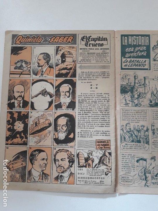Tebeos: EL CAPITÁN TRUENO EXTRA Nº 1 AÑO X. LA POSADA FATÍDICA. EDITORIAL BRUGUERA. 1960. - Foto 3 - 180203750