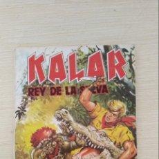 Tebeos: KALAR. REY DE LA SELVA N°1. Lote 180218951