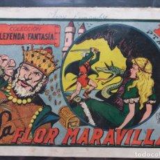 Tebeos: COLECCION LEYENDA Y FANTASÍA ORIGINAL Nº 1-M.GAGO-GUION P.GAGO-MAGA 1951-JOYA DE TEBEO. Lote 180222496