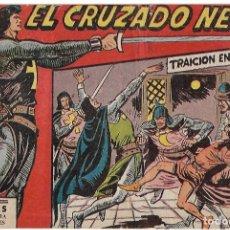 Tebeos: EL CRUZADO NEGRO Nº 1 ORIGINAL MAGA,- RECORTADO DE ENCUADERNACIÓN. Lote 182078600