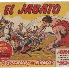Tebeos: EL JABATO Nº 1 ORIGINAL BRUGUERA 1958- BUEN ESTADO- LEER. Lote 182079108