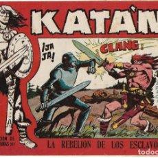 Tebeos: KATAN Nº 1 ORIGINAL 1958- BUEN ESTADO- LEER. Lote 182079490