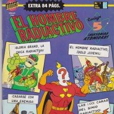 Tebeos: EL HOMBRE RADIACTIVO EXTRA - Nº 1 1996. Lote 182477991
