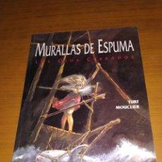 Tebeos: MURALLAS DE ESPUMA, LOS OJOS CERRADOS, TURF, MOUCLIER, EDICIONES ZINCO. Lote 182918801