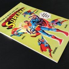 Giornalini: CASI EXCELENTE SUPERMAN 1 CONTRA LA MUJER MARAVILLA BRUGUERA. Lote 183082397
