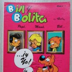 Tebeos: BILL Y BOLITA. ROBA. Nº 1. SEPP / MUNDIS,1979.. Lote 183087243