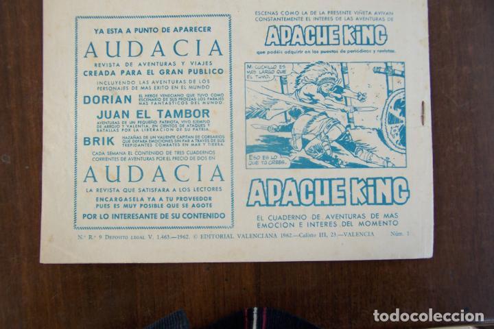 Tebeos: valenciana, el guerrillero audaz nº 1 - Foto 2 - 183412766