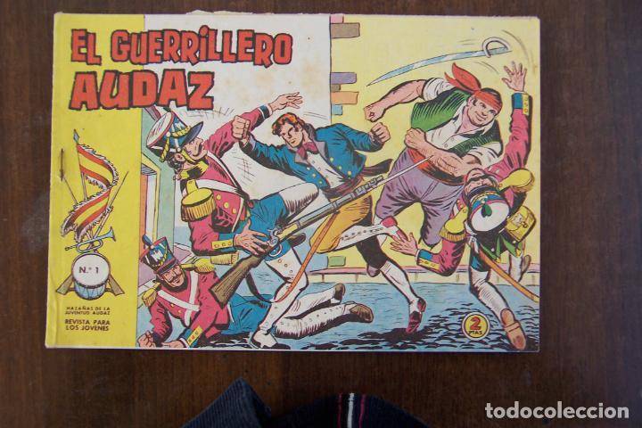 VALENCIANA, EL GUERRILLERO AUDAZ Nº 1 (Tebeos y Cómics - Números 1)