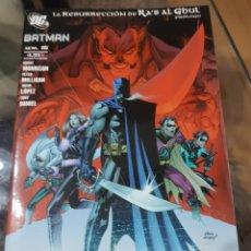 Tebeos: BATMAN LA RESURRECCIÓN DE RA'S AL GHUL DC COMICS PLANTEA DE AGOSTINI 2008. Lote 183423313