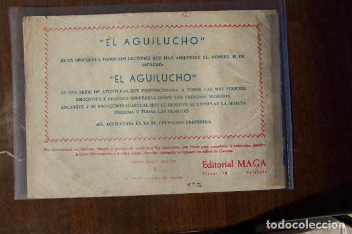 Tebeos: maga aguilucho nº 1 - Foto 2 - 183465975